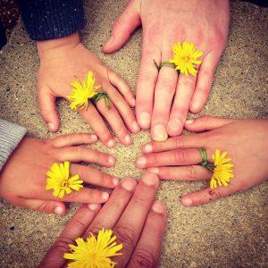Hånd om hænderne